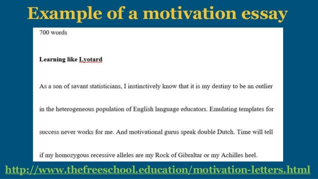 Motivation letter scholarships and college applications 3 example of a motivation altavistaventures Images