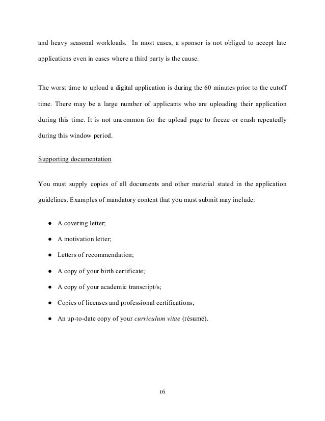 motivation letter and motivation essays college applications  16