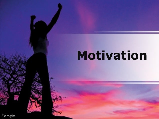Motivation Sample