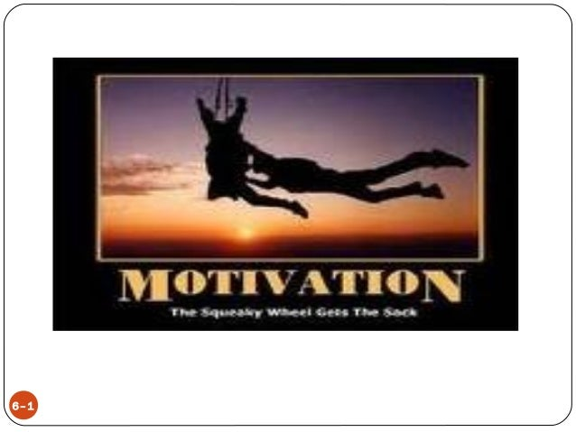 MOTIVATION  6–1