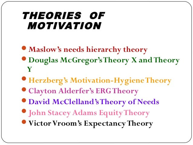 "what differentiates humanistic theories of motivation The hierarchy of needs theory was coined by psychologist abraham maslow in his 1943 paper ""a theory of human motivation"" the crux of the theory is that individuals' most basic needs must be met before they become motivated to achieve higher level needs."