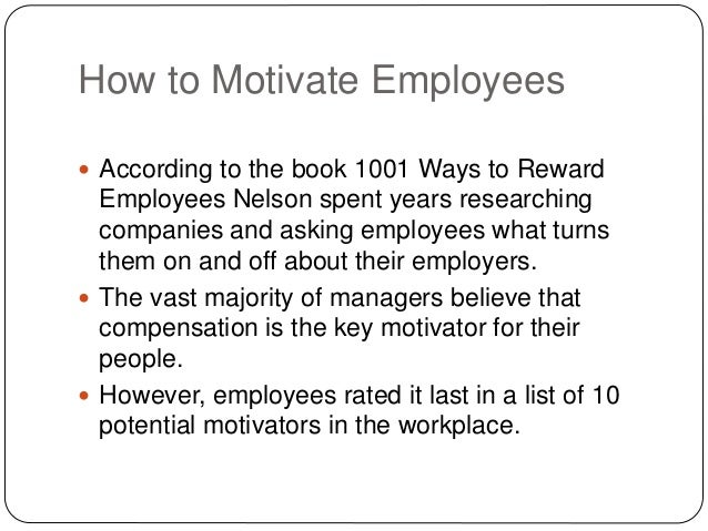 how ford company motivate their employee
