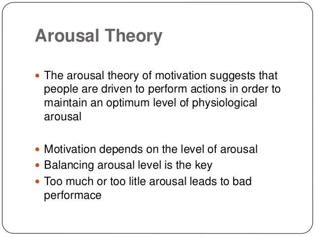 instinct theory of motivation definition