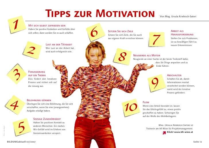 Tipps zur Motivation                        1                                                                             ...