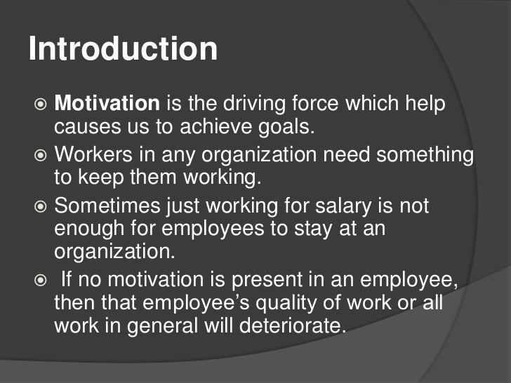 three motivational methods Three major theories of motivation  the advantages of the peer review appraisal method  a basic understanding of three major motivation theories helps us to.