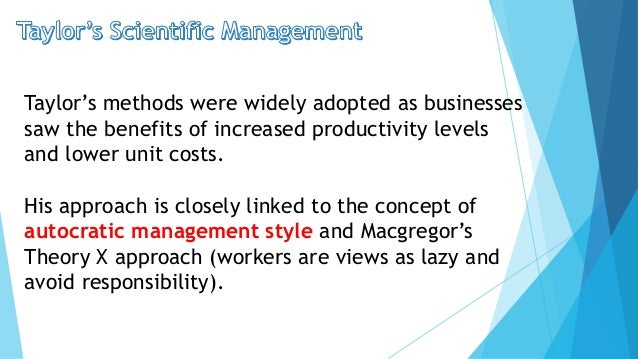taylor and mayo motivation theory management essay Frederick taylor's principles of scientific management theory, article posted by gaurav akrani on kalyan city life blog  the theory of human motivation.