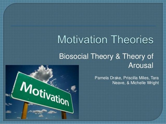 Biosocial Theory & Theory of Arousal Pamela Drake, Priscilla Miles, Tara Neave, & Michelle Wright