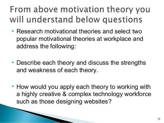 best motivation theory in hospitals The herzberg motivation theory is a simple, yet powerful tool which still forms the bedrock of motivational practices today and is used to help organisations create the optimum environment to motivation in its individuals.