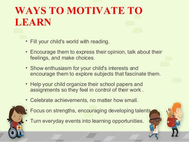 What motivates you to learn essay
