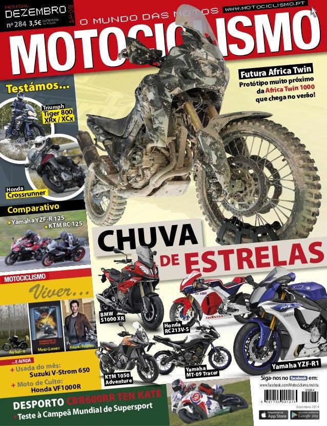 + Usada do mês:  Suzuki V-Strom 650  + Moto de Culto:  Honda VF1000R  ...E AINDA  Viver...  Ao Sul - II Moto Gamer Keanu R...