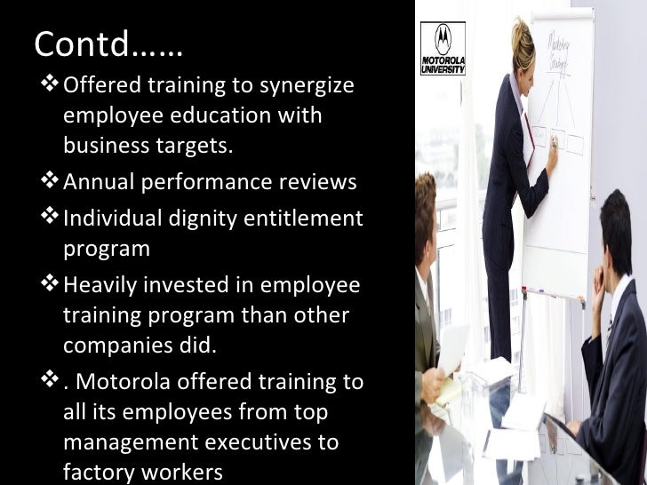 Training and development of employees case study