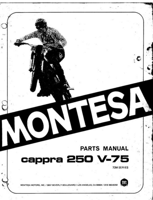 Moto montesacapra250v75manualinstrucc