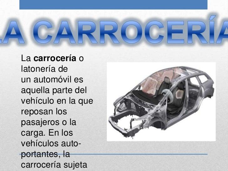 Partes externas de un vehiculo