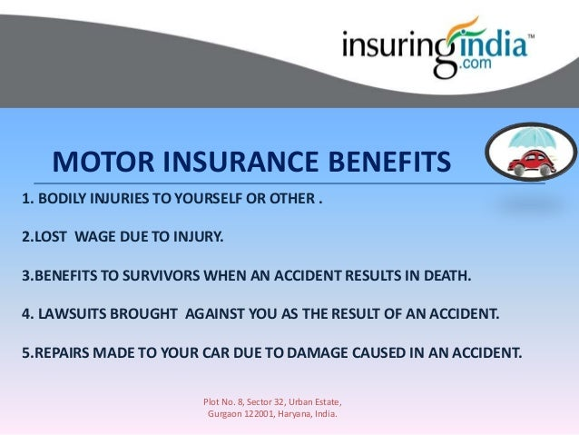 Motor vehicle insurance law in India