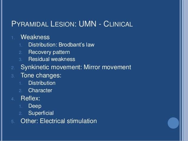 Motor Paralysis Clinical
