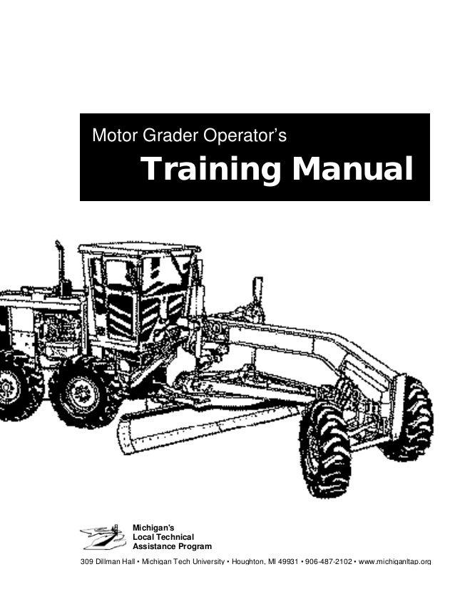 motor grader manual rh slideshare net Volvo Grader Parts Volvo Motor Grader Dealers