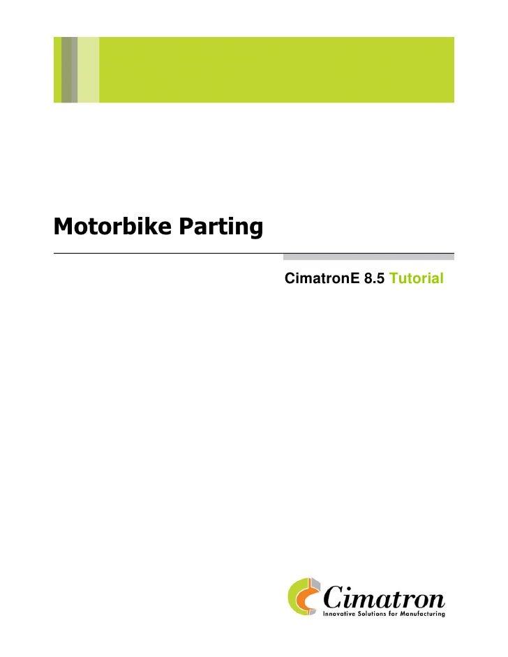 Motorbike parting