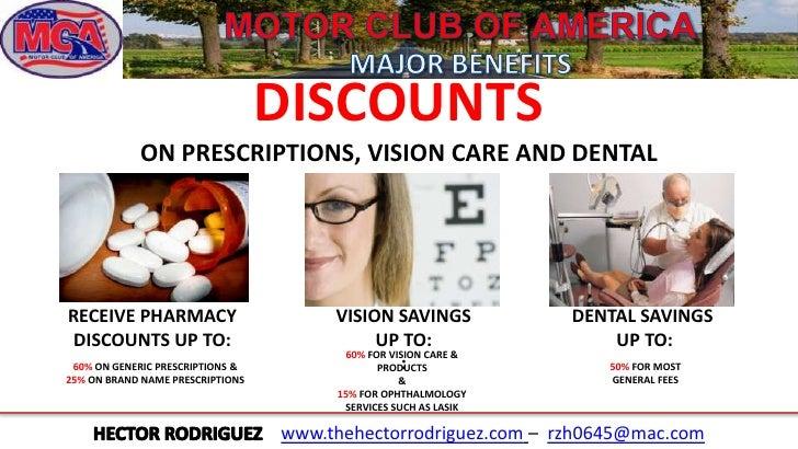 Motor club of america english for Motor club of america dental discounts