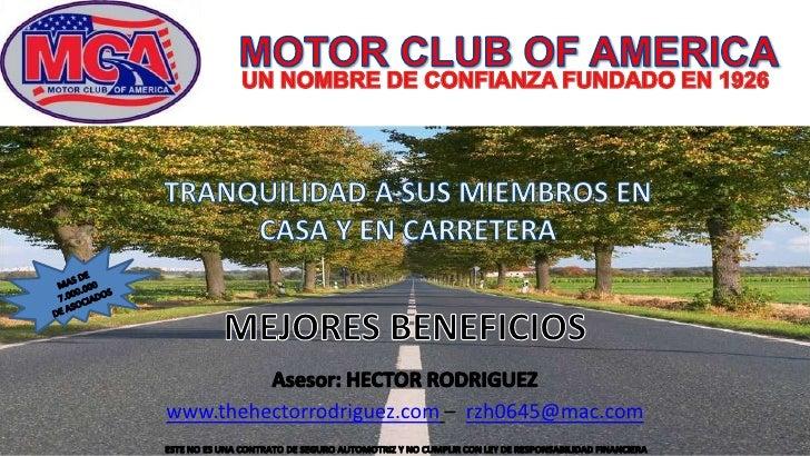 Motor Club Of America 2010 Spanish