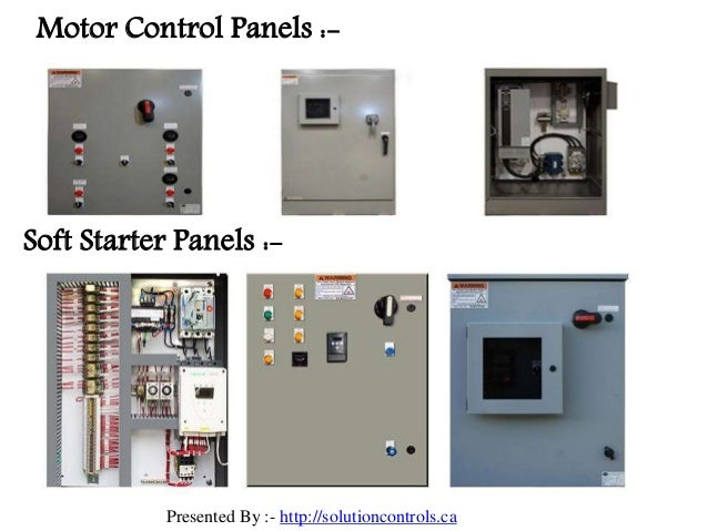 Motor control panel and soft starter panels online for Motor starter control panel