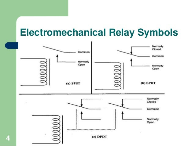 4 pole relay wiring diagram relay connection diagram
