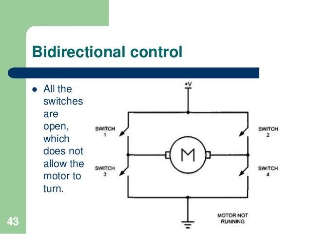 motor control relay, pwm, dc and stepper motorscreating a short circuit; 43