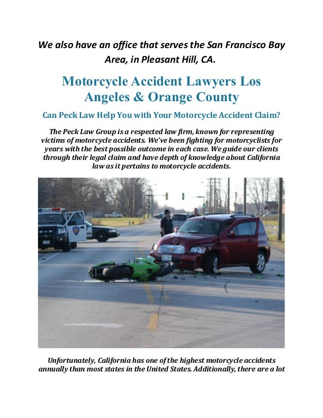 Motorcycle Accident Attorney Orange & County Los Angeles