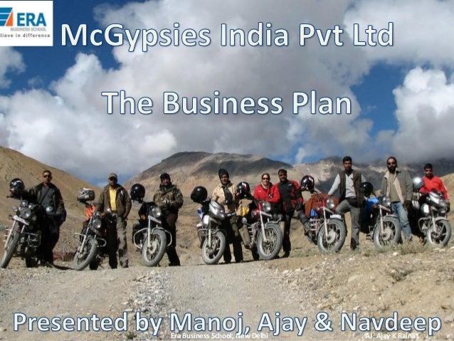 Era Business School, New Delhi  AJ; Ajay K Raina1