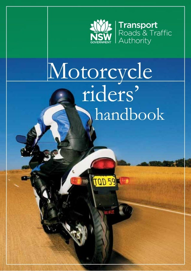 Motorcycleriders'handbook