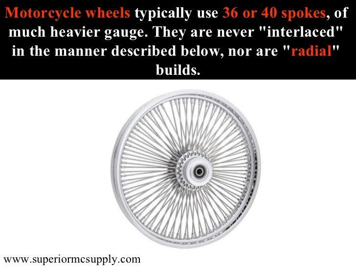 Motorcycle Spoke Wheels Slide 3