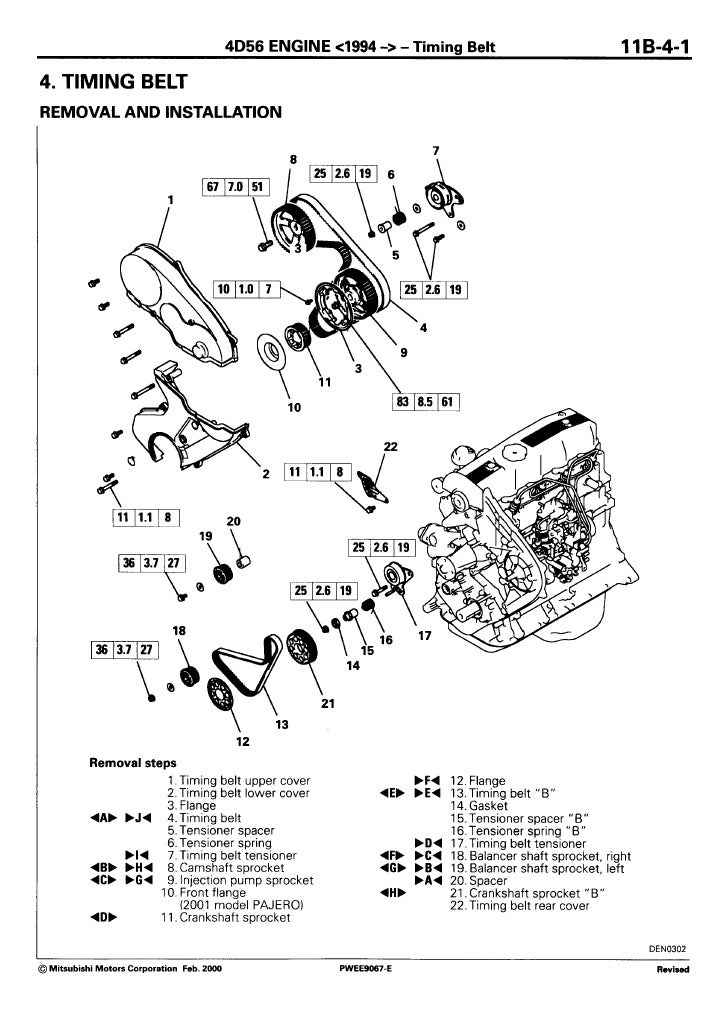 Motor da l200 4d56
