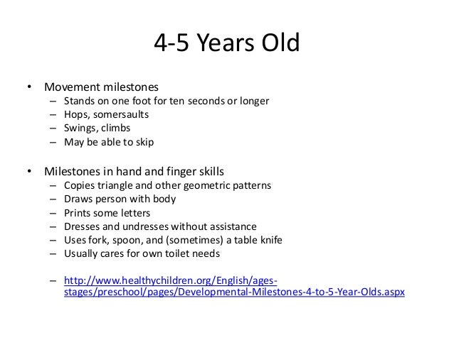 Cognitive Development of a 5-Year-Old