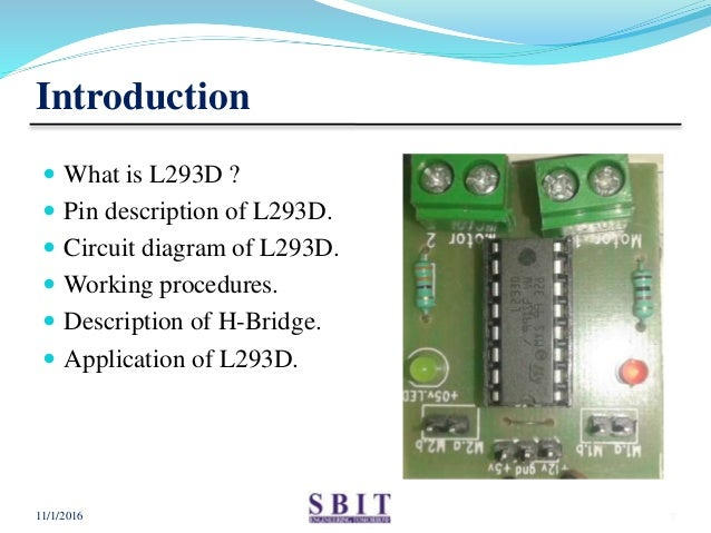 Prime L293D Motor Driver Ic L293D Pin Diagram Working And Description Wiring Database Pengheclesi4X4Andersnl