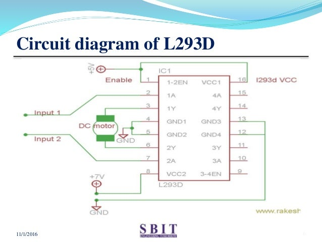 Swell Motor Driver Ic L293D Wiring Database Pengheclesi4X4Andersnl