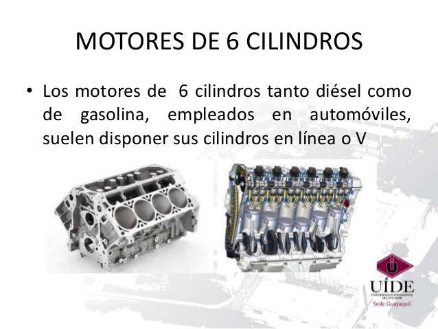 Motor de 6 cilindros en v