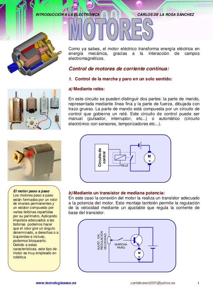 INTRODUCCIÓN A LA ELECTRÓNICA                              CARLOS DE LA ROSA SÁNCHEZ                                Como y...