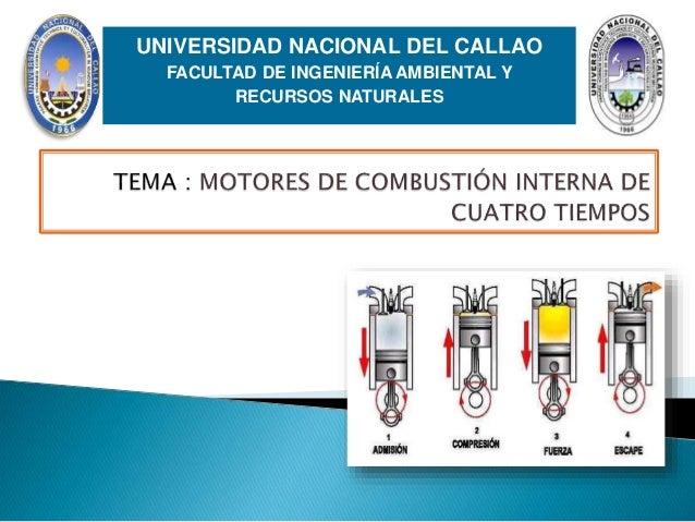 UNIVERSIDAD NACIONAL DEL UNIVERSIDAD NACIONAL DEL CALLAO FACULTAD DE INGENIERÍA AMBIENTAL Y RECURSOS NATURALES