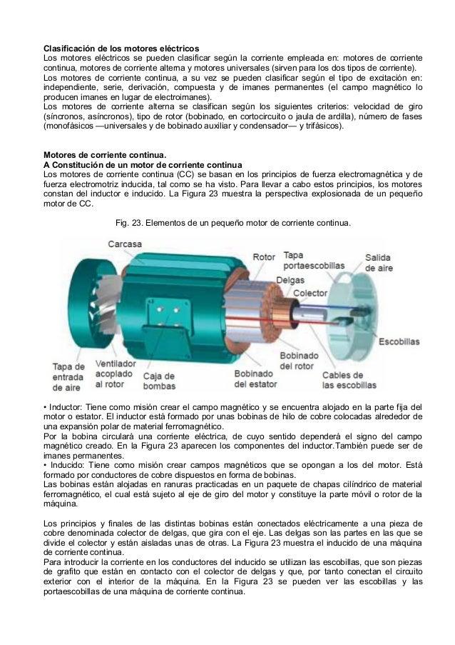 Motores electricos de corriente continua