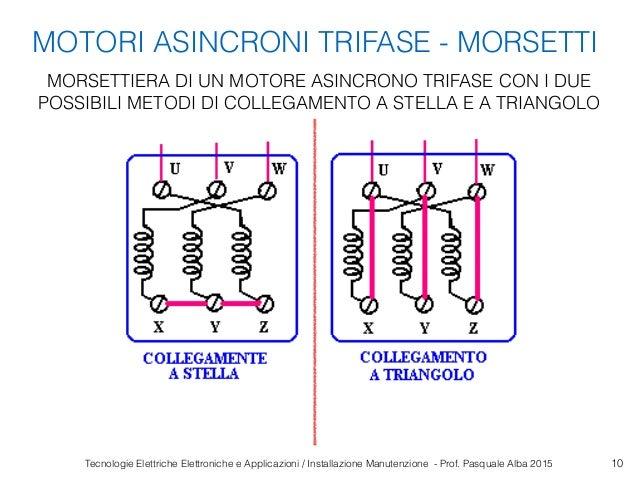 Schema Collegamento Motore Trifase A Due Velocita : Motori elettrici