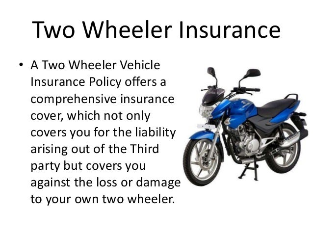 Motor insurance for Third party motor vehicle