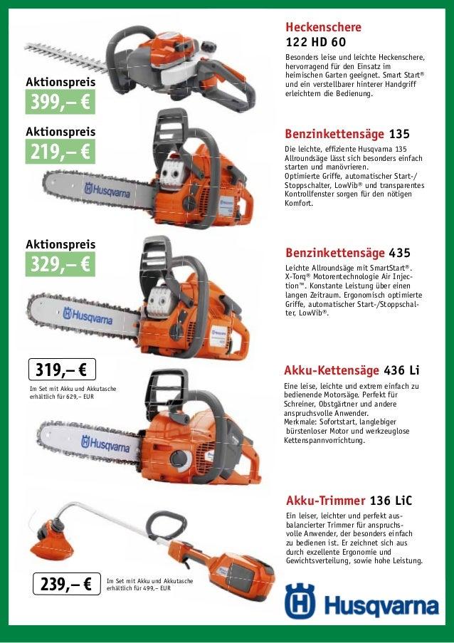 Heckenschere 122 HD 60 Besonders leise und leichte Heckenschere, hervorragend für den Einsatz im heimischen Garten geeigne...