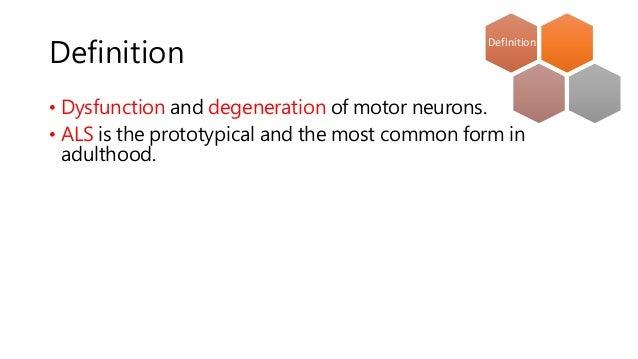 Definition of motor neuron for Definition of motor neuron disease