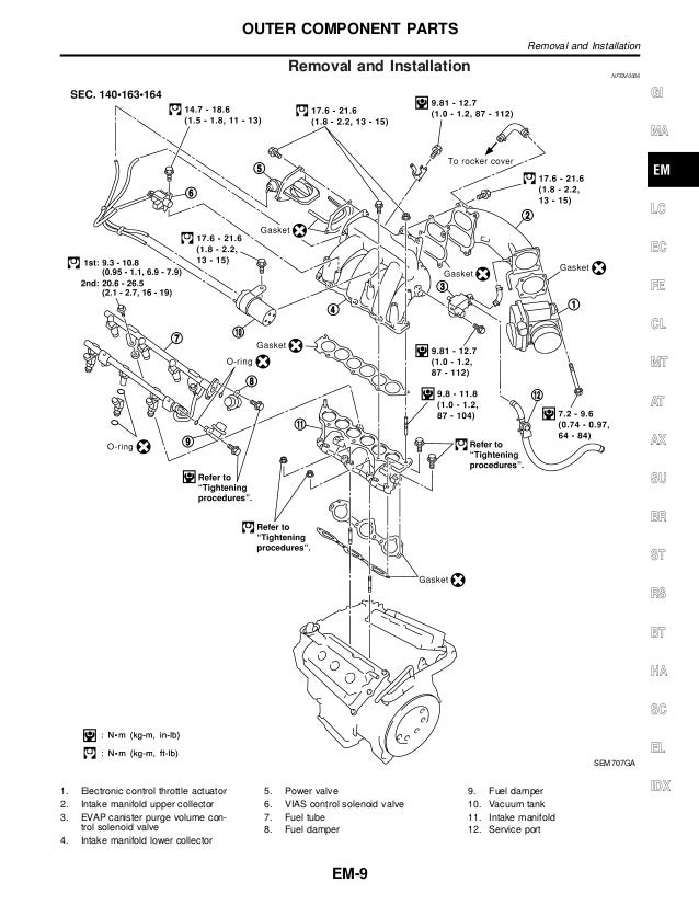 Motor nissan vq35 de pathfinder lr50 | Vq35de Engine Diagram |  | SlideShare