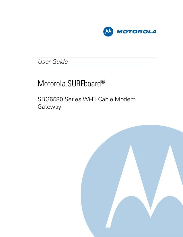 motorola modem user guide sb6580 rh slideshare net Motorola Modem Router Combo Motorola Cable Modem with Telephone