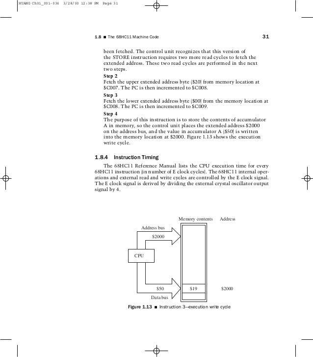 Block Diagram Of Motorola 68hc11