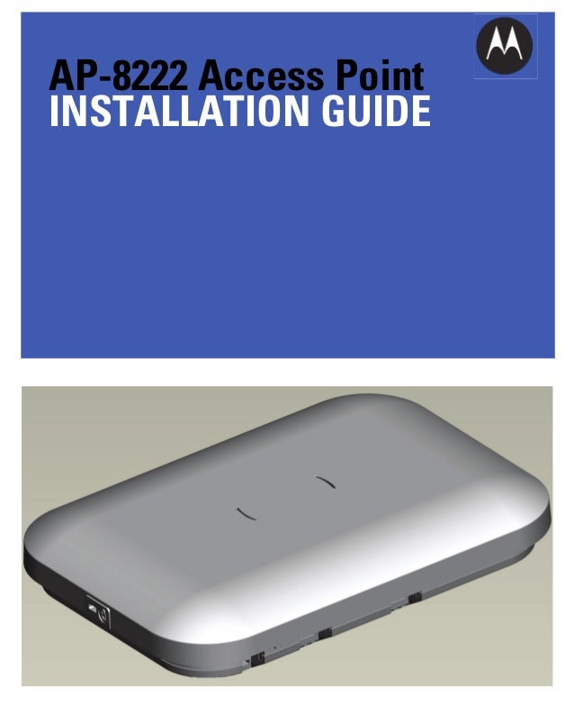 AP-8222 Access Point INSTALLATION GUIDE
