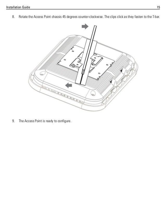 Motorola ap 8222 access point installation guide mn000046 a01