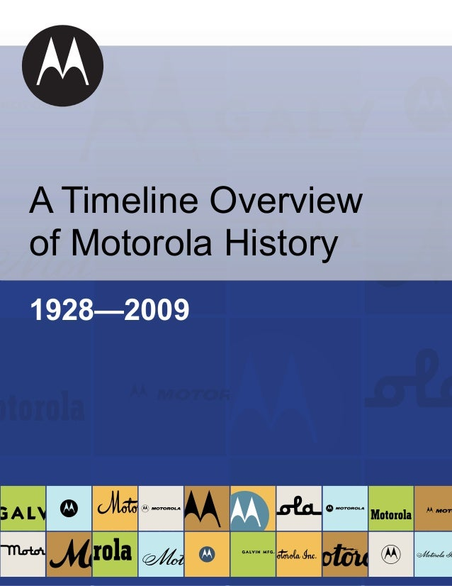 an introduction to the history of motorola