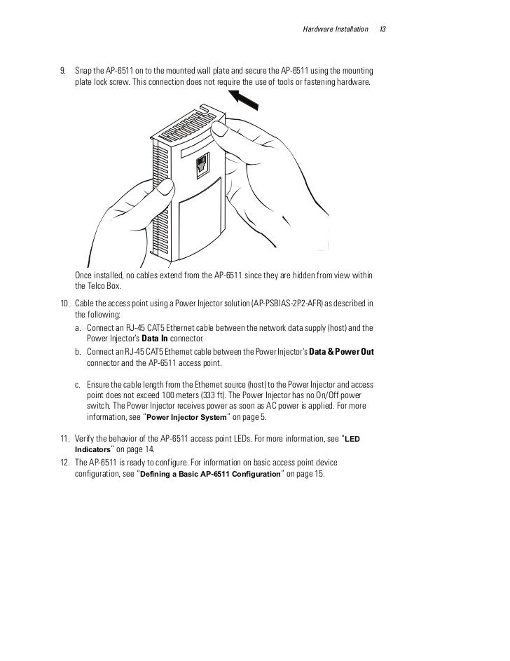 motorola solutions ap access point installation guide part no 17 hardware installation 139