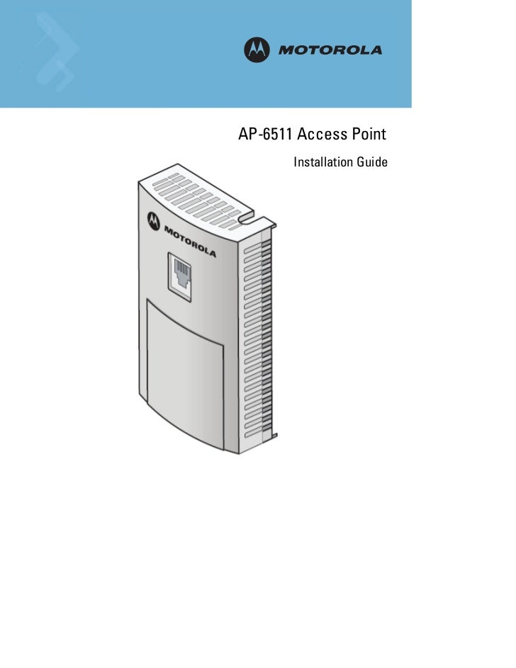 MAP-6511 Access Point       Installation Guide